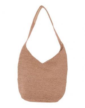 Сумка на плечо HELEN KAMINSKI. Цвет: песочный