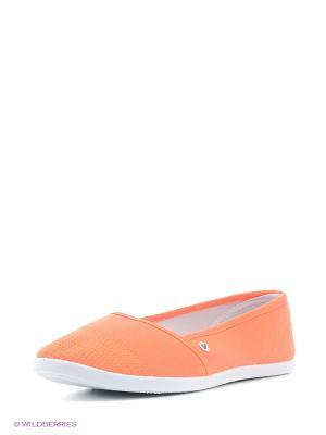 Балетки HCS. Цвет: оранжевый