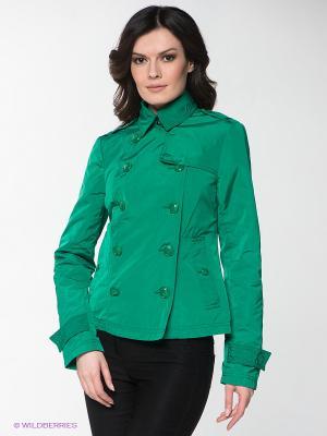 Куртка INCITY. Цвет: зеленый