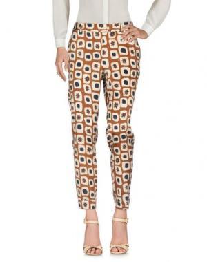 Повседневные брюки MÊME by GIAB'S. Цвет: коричневый