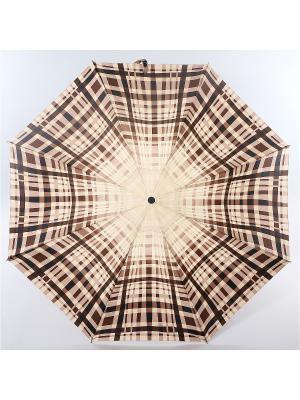 Зонт Zest, 3 слож, ПолнАвто, П-Э Zest. Цвет: черный, белый, молочный