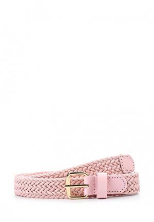 Ремень Pieces. Цвет: розовый