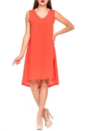 Платье Magnet. Цвет: коралловый