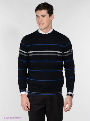 Джемпер Navigare. Цвет: темно-синий, синий, серый