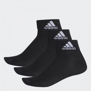 Три пары носков Performance  adidas. Цвет: черный