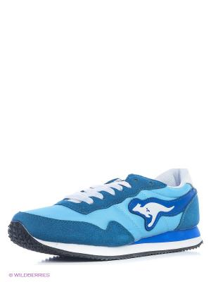 Кроссовки KangaROOS. Цвет: голубой