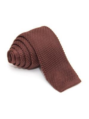 Галстук Churchill accessories. Цвет: темно-бордовый, темно-красный, бордовый, коричневый
