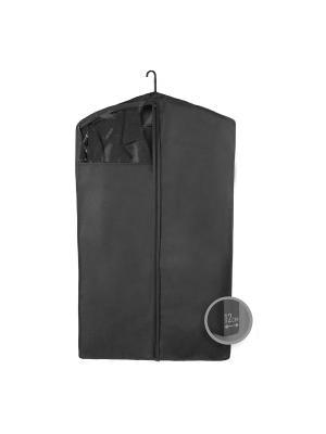 Чехол для верхней одежды Miolla. Цвет: черный