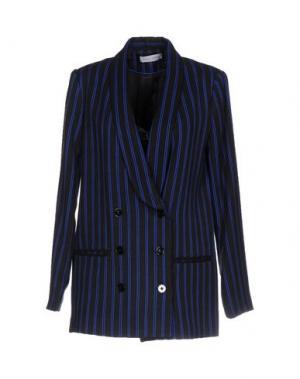 Пиджак WEILI ZHENG. Цвет: ярко-синий