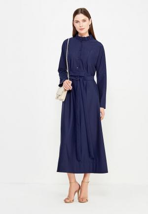 Платье Parole by Victoria Andreyanova. Цвет: синий
