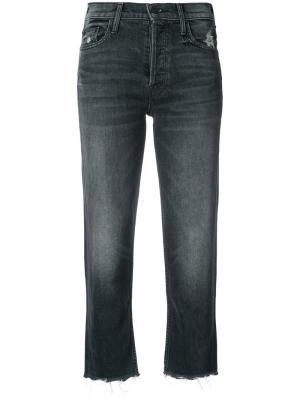 Укороченные джинсы Tomcat Mother. Цвет: серый