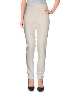 Повседневные брюки CHALAYAN. Цвет: слоновая кость