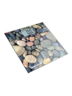 Весы напольные REDMOND RS-708 (Камни). Цвет: белый