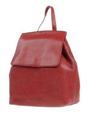 Рюкзаки и сумки на пояс MANIFATTURE CAMPANE. Цвет: кирпично-красный