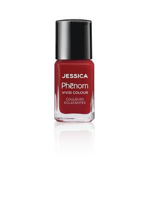 Phenom Цветное покрытие Vivid Colour Jessica Red № 21, 15 мл. Цвет: красный
