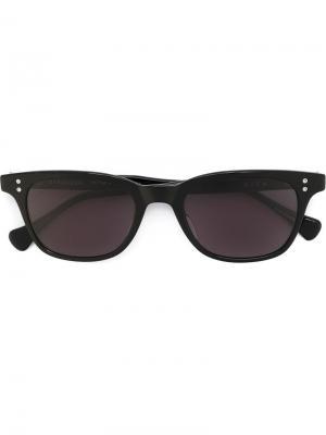 Солнцезащитные очки с прямоугольной оправой Dita Eyewear. Цвет: чёрный