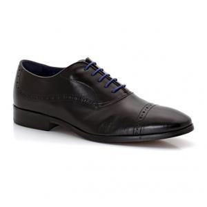Ботинки-дерби из кожи со шнуровкой AZZARO. Цвет: каштановый,черный