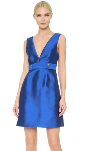 Платье Victory Lisa Perry. Цвет: синий