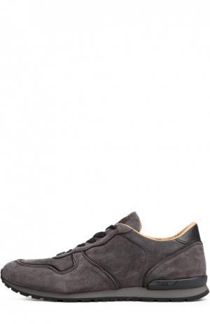Спортивные туфли Tod's. Цвет: серый