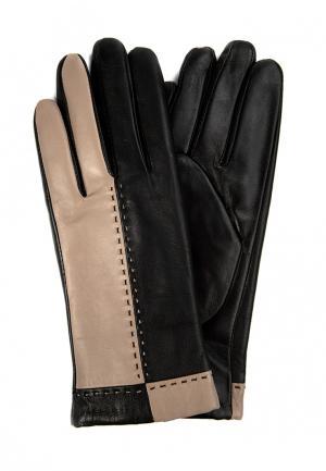 Перчатки Marco Bonne`. Цвет: бежевый