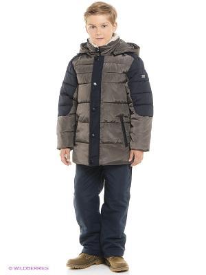 Куртка MES AMI. Цвет: коричневый
