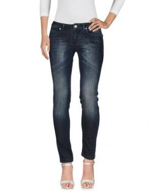 Джинсовые брюки DEKKER. Цвет: синий