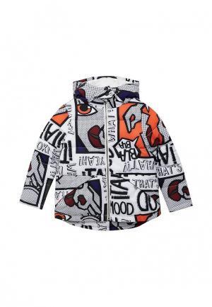 Куртка утепленная United Colors of Benetton. Цвет: белый