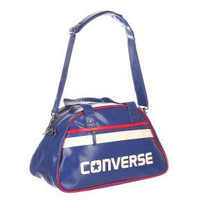 Сумка через плечо  Standard Bowler Blue Converse. Цвет: синий