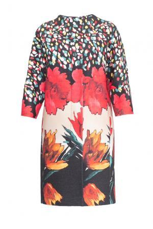 Пальто 152587 Mia Blanca. Цвет: разноцветный