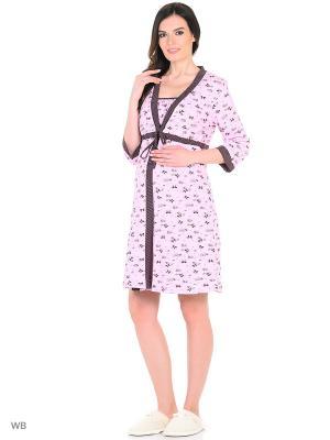Комплект для беременных и кормящих FEST. Цвет: розовый, коричневый