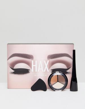 HAX Набор для макияжа глаз с фигурной подводкой. Цвет: мульти