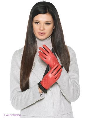 Перчатки Karma. Цвет: красный