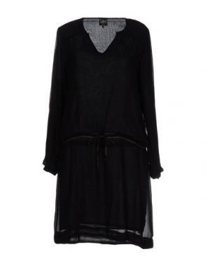 Короткое платье SWILDENS. Цвет: черный
