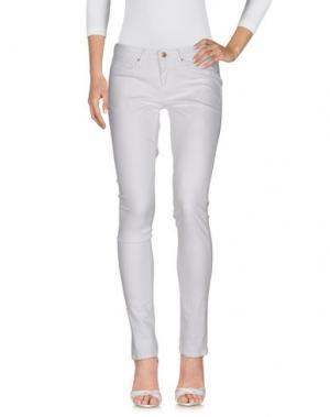 Джинсовые брюки TWENTY8TWELVE. Цвет: белый