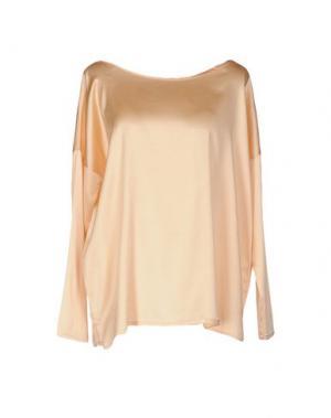 Блузка NIOI. Цвет: абрикосовый