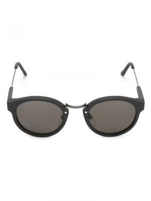 Солнцезащитные очки Panamá Retrosuperfuture. Цвет: чёрный