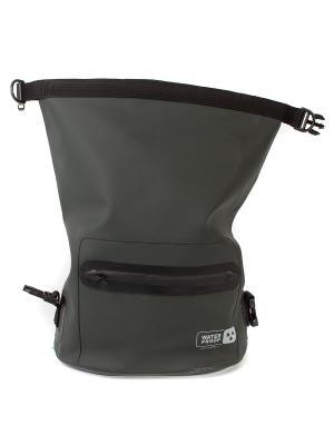 Поясная сумка Orlan. Цвет: серый