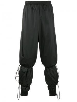 Многослойные спортивные брюки Y / Project. Цвет: чёрный