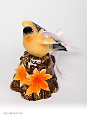 Подвесная фигурка Канарейка Pavone. Цвет: оранжевый, черный, коричневый