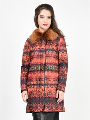 Пальто GRAFINIA. Цвет: оранжевый
