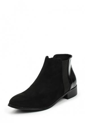 Ботинки Vera Blum. Цвет: черный