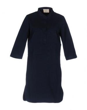 Короткое платье FOLK. Цвет: синий