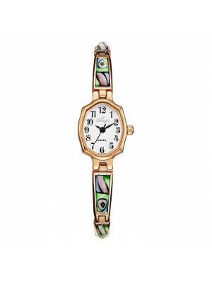 Часы Mikhail Moskvin. Цвет: зеленый, золотистый, светло-коралловый