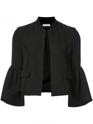 Bell sleeved jacket Ulla Johnson. Цвет: чёрный
