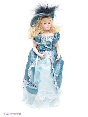 Кукла фарфоровая Анжелика Lisa Jane. Цвет: голубой