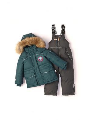Комплект одежды NELS. Цвет: зеленый