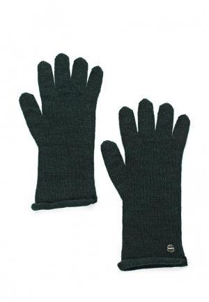 Перчатки Coccinelle. Цвет: зеленый