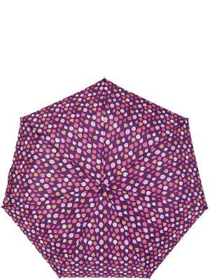 Зонт Labbra. Цвет: светло-коричневый, фиолетовый, фуксия