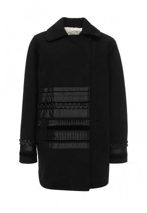 Пальто Twin-Set Simona Barbieri. Цвет: черный