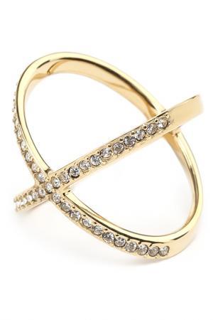 Кольцо Michael Kors. Цвет: золотой